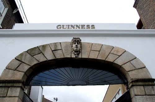 THE st. james gate, guinness brewery