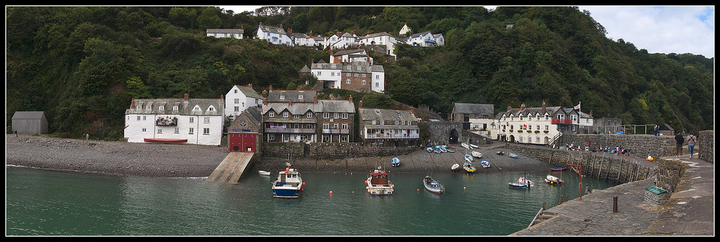 Clovelly (2) (panorama)