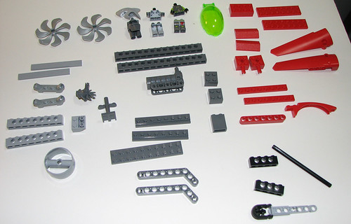 LEGO 8060 Atlantis - Typhoon Turbo Sub - Parts 3