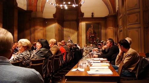 Stadtratssitzung Aachen, 18.11.2009