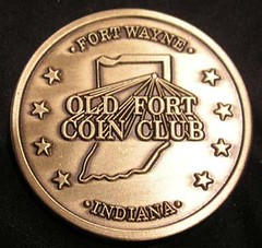 Old Fort Coin Club 600th Meeting reverse