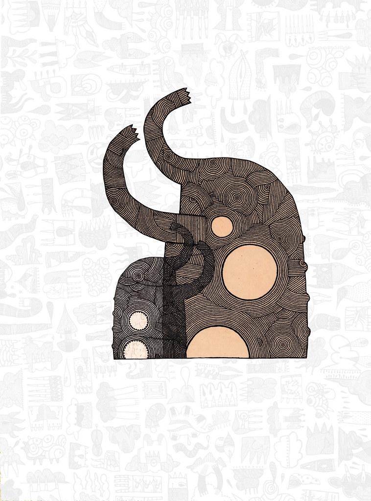 elephantwhiteon