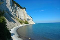 Mons Klint (Arjan Hamberg) Tags: sea cliff beach strand denmark chalk zee shore mon denemarken klint kust kalkrotsen