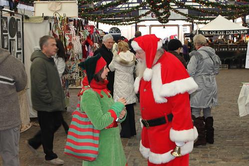 Santa in Greenwich Market