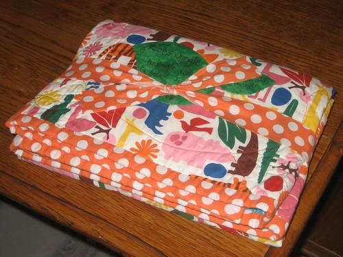 Zoe's Jungle Quilt