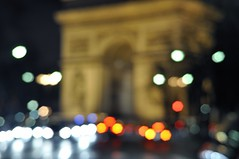 Bokeh Arc de Triomphe (iPh4n70M) Tags: shadow paris night photography photo photographer photographie nocturnal shot sombre photograph tc nuit nocturne photographe tcphotography ph4n70m iph4n70m tcphotographie