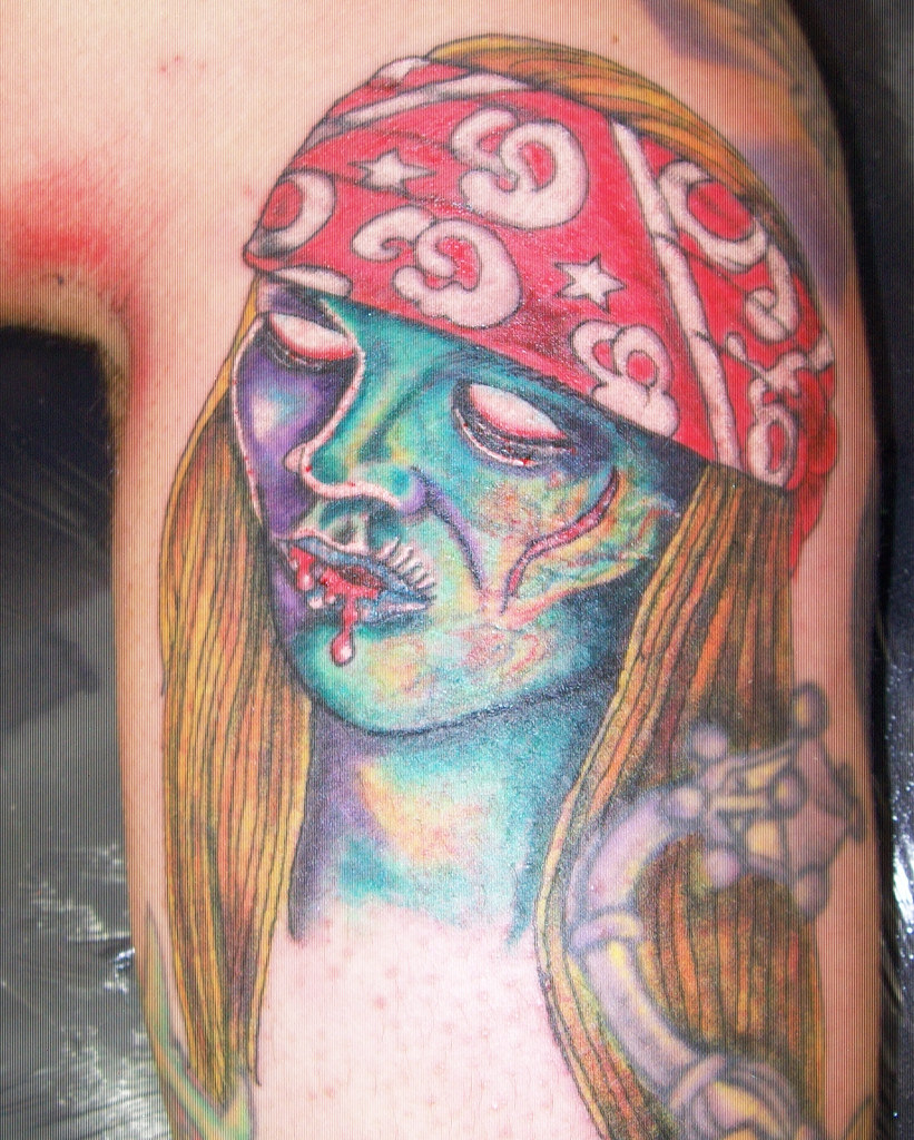 The World S Newest Photos Of Gunsnroses And Tattoo Flickr Hive Mind