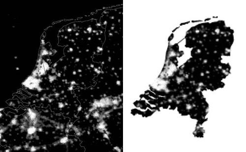 nederland 's nachts