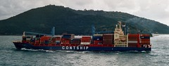 MS Contship Auckland (Aah-Yeah) Tags: la ship container auckland schiff spezia contship