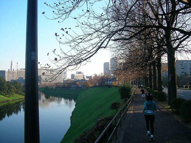 皇居ランニング Running around The Imperial Palace
