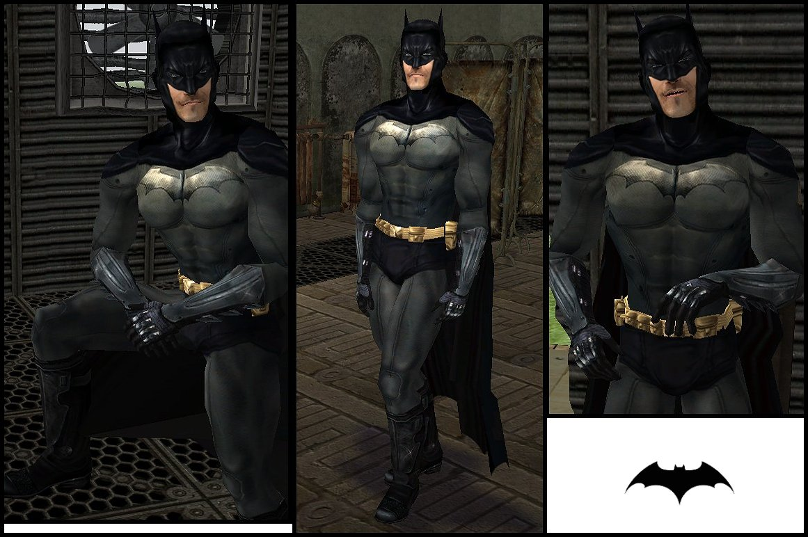 News Batman u0027Arkham Asylumu0027 costume for The Sims 3 & News - Batman u0027Arkham Asylumu0027 costume for The Sims 3 | WorldSims ...