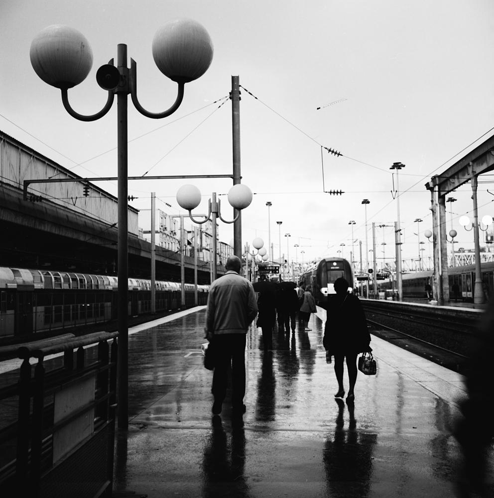 Waintin in the rain