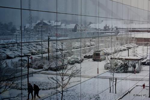 Telenet in the snow