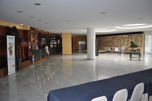 Recepción y entrada al Hotel