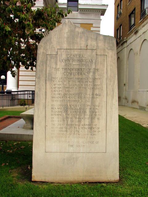 General John Morgan Marker