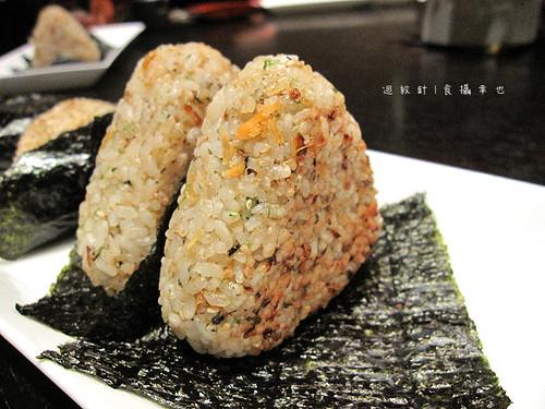 三井午間套餐烤鮭魚飯糰