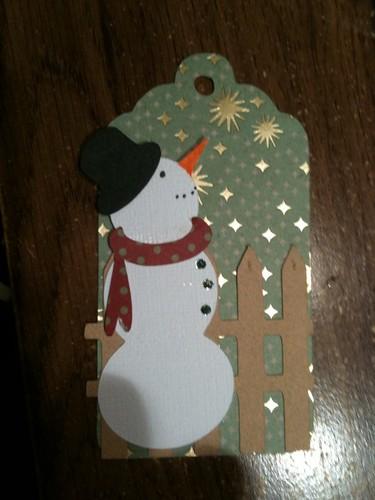 Snowman tag 2