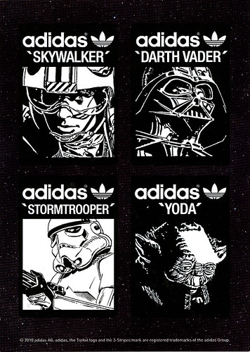 adidas Originals Star Wars Postcard