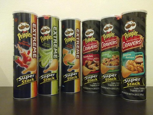 Pringles Extreme and Restaurant Cravers