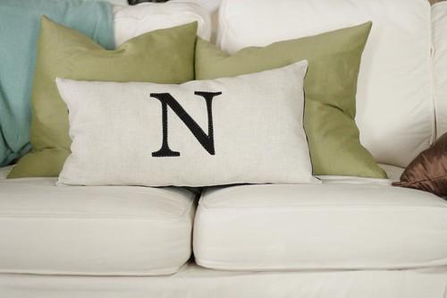 N pillow