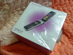Sony Ericsson T707 package box 2
