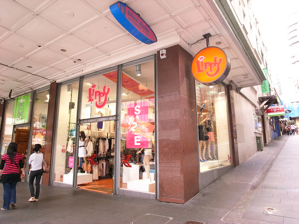 Lippy...a funny select shop with many choices of clubbing wear