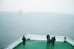 (FRAU  GRAU) Tags: sea ferry seagull norderney northsea nordsee ferryboat
