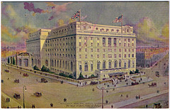 Liverpool - Midland Adelphi Hotel. And Some Interesting Facts. (pepandtim) Tags: old roof pool america swimming liverpool manchester hotel james arthur early war postcard pigeons hill great indoor nostalgia 1984 chandeliers nostalgic adelphi hotels 1912 marble suite titanic carpets sauna midland radley 1913 britannia 1880 tucks lms grandeur liners 1826 sefton towle copperas 35lma77