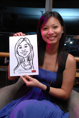 Caricature live sketching for TLC - 39