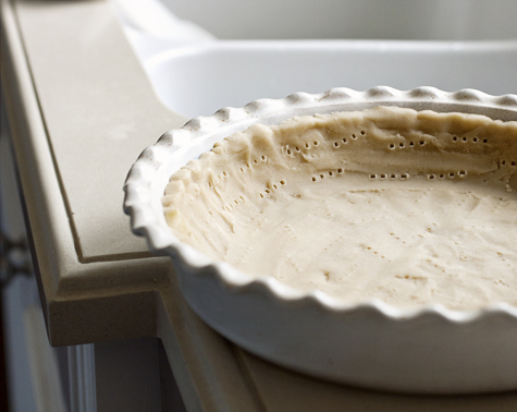 Chilled pie crust