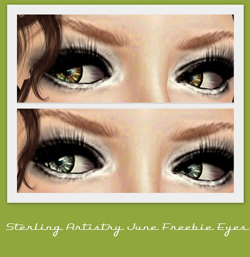 Sterling Artistry June Freebie Eyes