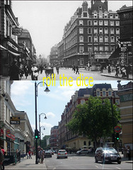 Gloucester Road`1920-2011 (roll the dice) Tags: old uk england urban london history beer architecture club circle underground hotel rainbow pub closed sad traffic mercury district transport tube ale landmark collection burgerking gb local mad baileys changes demolished metropolitan 1920 lager publichouse twenties londonist sw5 kensingtonchelsea