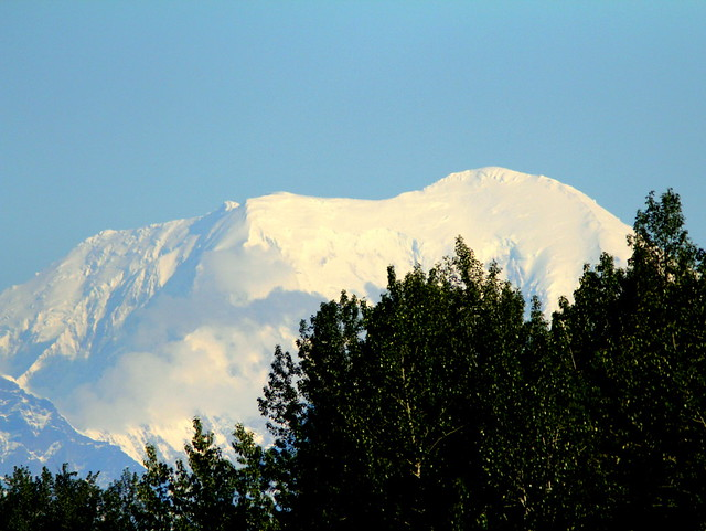 Mountain north of Talkeetna 20110618