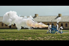 minnesota fort snelling cannon shot (Dan Anderson.) Tags: statepark history minnesota museum army fire shot military stpaul cannon artillery saintpaul mn base blast explosive gunpowder fortsnelling historicplaces minnesotahistoricalsociety historicfortsnelling