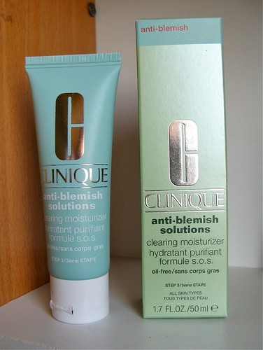 clinique anti blemish moisturiser