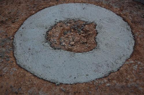 Concrete donut