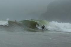 _O5A9751 (waxedwaves.com) Tags: surf surfing surfer bodyboard bodyboarding barrel nugget foggy rain wave ocean raining badlight aquatech waterhousing