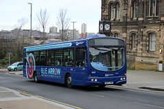 Go North East: 4970 / NK53 UNW (Northern Transport Photos) Tags: nebuses gonortheast gonorthern goahead goaheadnortheast gateshead scaniawrightsolar bluearrow