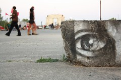 big brother (essata) Tags: graffiti auge luftschloss fusionfestival09