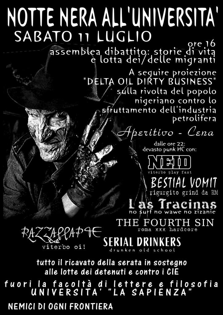 Serata punk-hc a Roma!
