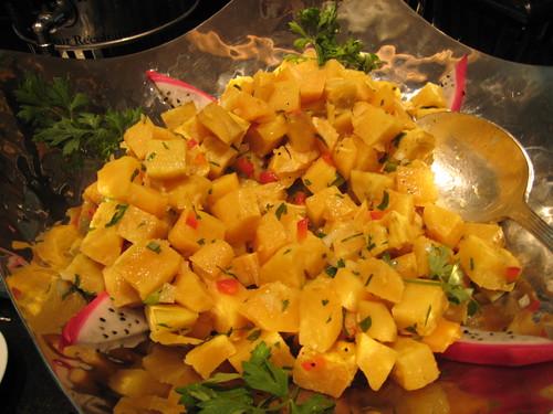 Salad Station: Pumpkin Salad