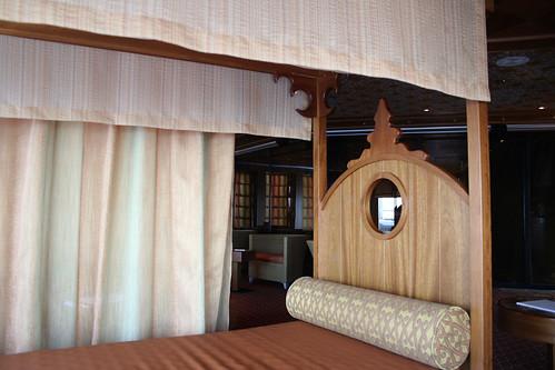 Bed in Spa Resting Area (Carnival Splendor)
