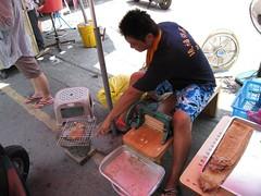 現烤魷魚,好吃