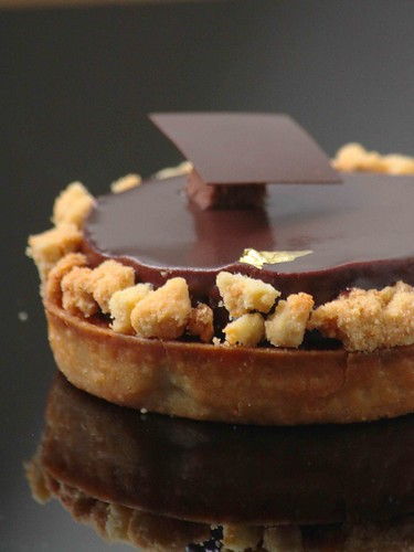 Chocolate Banana Tart