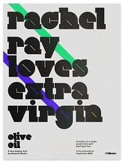 Olive Oil Poster (_Untitled-1) Tags: lines typography design rachel aqua ray purple graphic fat olive virgin oil loves osaka network extra serif bold slab typeface