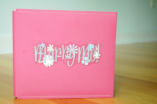 Bridal Shower Scrapbook