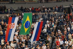 Final, Brazil 3 - Serbia 2 (George M. Groutas) Tags: brazil serbia ceremony award final volleyball belgrade goldmedal 2009 volley beograd fivb worldleague selloutcrowd beogradksaarena httpwwwfivborgenvolleyballcompetitionsworld