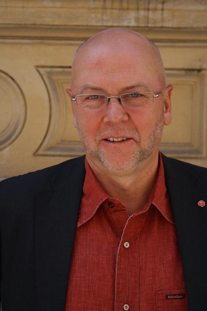 Thomas Strand, ordf för broderskaparna i riksdagen
