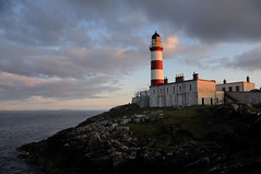 Eilean Glas lighthouse, Scalpay, Harris, Scotland (iancowe) Tags: sunset lighthouse island evening scotland scottish stevenson harris minch isle eilean glas scalpay mywinners