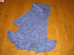 Finished Flutter Scarf Correct Colour